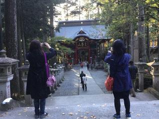 疲れを癒しに三峰神社
