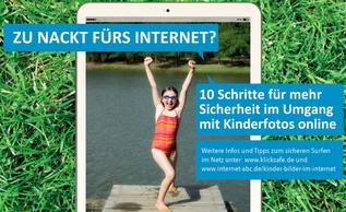 Screenshot Flyer klicksafe.de