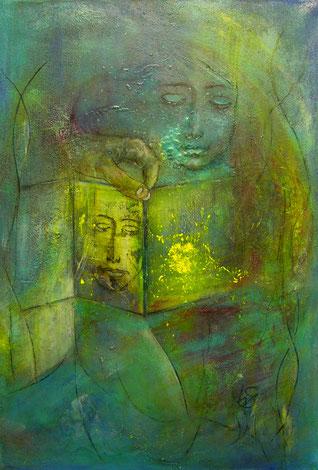 BDL 1611, Acryl auf Leinwand 100 x 70 cm