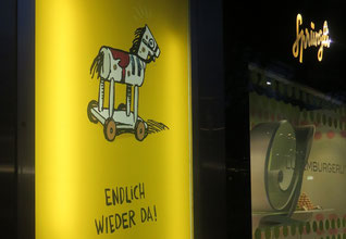 12. Januar 2012 - Das Rösslein Hü macht wieder Sprüngli