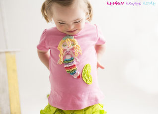 mermaid tee, rainbow mermaid, lemon loves lime, mermaid shirt