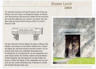 """UNESCO-Welterbe """"Obergermanisch-Raetischer Limes"""""""