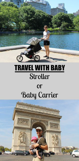 A new series on our blog! Should you bring a stroller or baby carrier on your next trip? Read more at www.babycantravel.com/blog