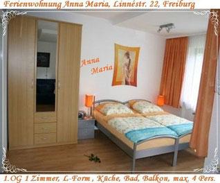 Ferienwohnung Anna Maria, Linnéstr. 22, Freiburg