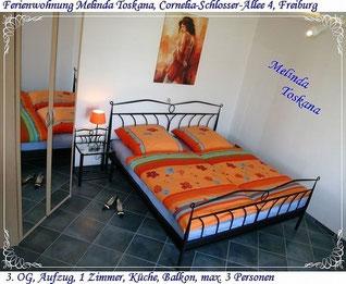 Ferienwohnung Melinda Toskana, Cornelia-Schlosser-Allee 4, Freiburg
