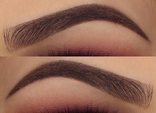 powder-ombre brows