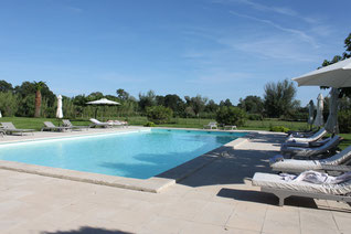 Pool Hotel Mas de Peint