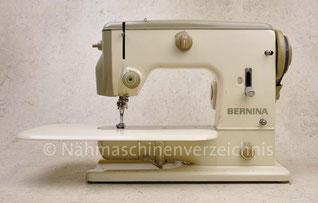 Bernina 600, Freiarm-Haushaltsnähmaschine mit  Anbaumotor, Gerade- und Zickzack-Stich, Hersteller: Fritz Gegauf AG, Bernina-Nähmachinenfabrik, Steckborn TG/Schweiz (Bilder: Nähmaschinenverzeichnis)