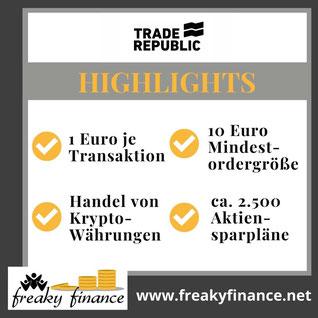 freaky finance, Neobroker-Vergleich, Trade Republic, FAQ Neobroker, Brokerwahl, Fragen