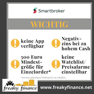 freaky finance, Neobroker-Vergleich, Smartbroker, FAQ Neobroker, Brokerwahl, Fragen