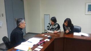 松島さんには鈴木さん柏さん2人で読み解きに挑みます^0^