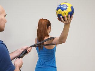 Bild: Physio Campus Sursee: Handball Reha