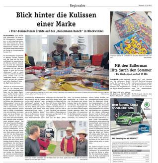 DIE WOCHENPOST (LK Diepholz), 05.07.2017, Red. Harald Bartels