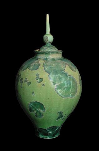 Vase/boîte Vert émeraude