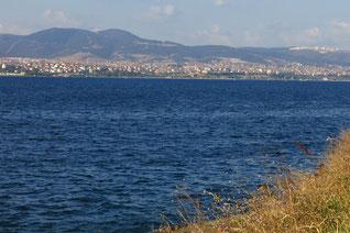Dicht besiedelt: Marmarameer bei Gebze