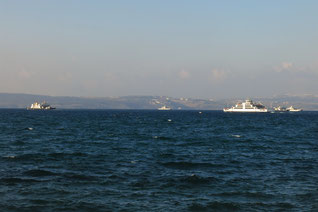 Fähren von Topçular und Yalova nach Istanbul