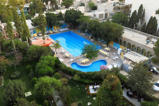 Hotel Kowsar - mit Pool und Park