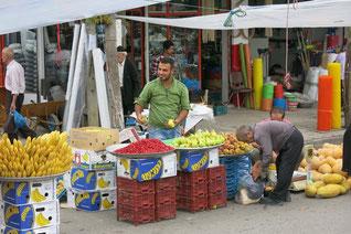 Markt in Fuman