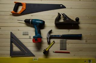 Werkzeug, Hausmeister, Renovierung