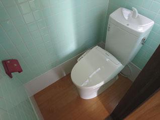 イクメンリフォームの和式トイレを洋式トイレにリフォーム