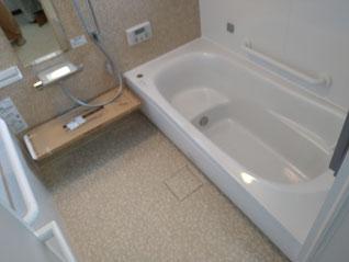 イクメンリフォームの岐阜県揖斐郡大野町のお風呂・システムバスの激安リフォーム