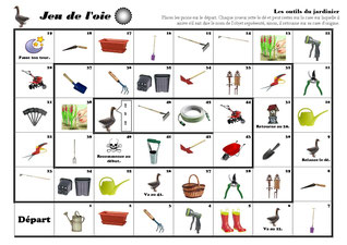 Les Outils Du Jardinier Fiches De Pr Parations Cycle1 Cycle 2 Clis