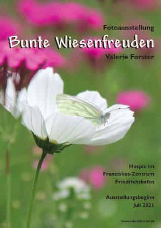 Valerie Forster, Ausstellung, Plakat, Bunte Wiesenfreuden