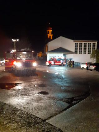 4.Zugsübung am 02.10.2019 Objekt:  GH Kirchenwirt