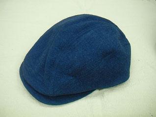藍染めハンチング ¥7,400+税