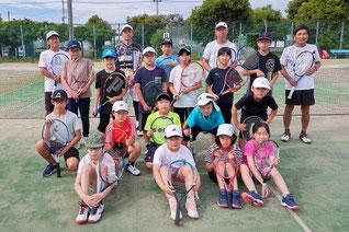 新田支部 ジュニアテニス