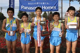 優勝:小見川陸上クラブ
