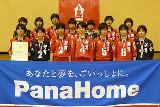 中学生2位の芳賀町立芳賀中学校