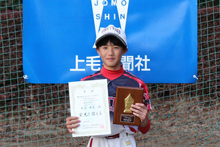 最優秀選手賞:武石 麻愛(宝泉プリティーズ)