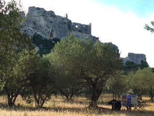 The other side of Les-Baux-de-Provence