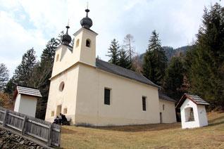 die letzten Stationen mit der Kalvarienberg-Kapelle