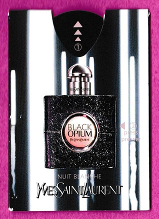 2016 - PUFFER BLACK OPIUM NUIT BLANCHE - YSL