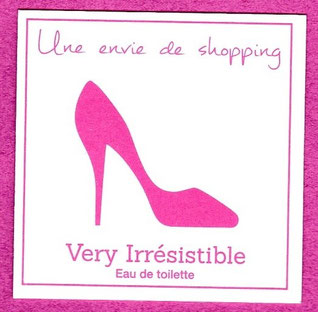 GIVENCHY - SERIE DES VERY IRRESISTIBLE : CHAUSSURE ROSE : RECTO