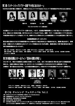 『その先にあるもの...』港北公会堂公演(2013)