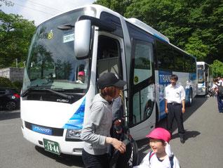 バスかっこいい!