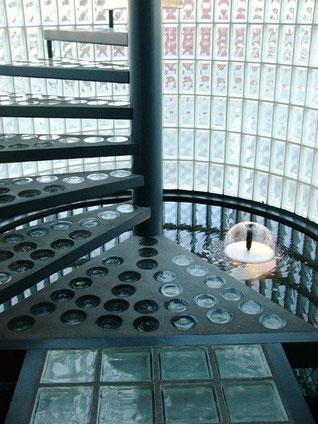 Glasstahlbeton Fertigteile Glasbausteine Glasbausteindecken Glasbausteinwände Fertigelemente Paneele Ft-Glasbausteine  Konkrete Briller Concrete Glass Bril Betonit Lasit Betong Solaris Hollow glass blocks, Half shell Floor tiles, solid glas block
