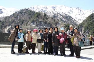 1泊ツアー 黒部と雪の大谷