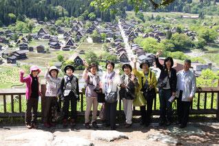 白川郷と飛騨高山