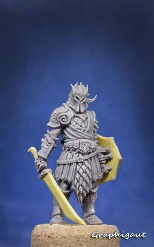 Black Dragon, Conan, boardgame, Monolith Games, Graphigaut, Beesputty, handmade sculpture, 32mm