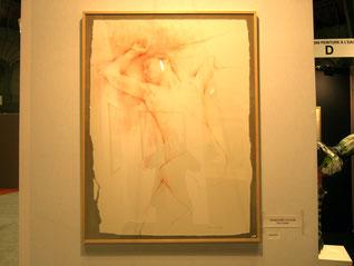 2007 - Prix Taylor - l'oubli  - 116x89  - sanguine/pastel