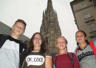 Wir waren alle am Stefansturm oben!