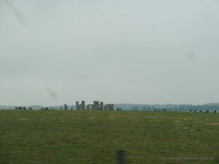 Stonehenge in der Nähe von Salisbury...