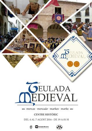Programa del Mercado Medieval en Teulada