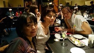 2016年夏 鹿児島の母と京都の妹と、大阪にて