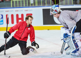 Reto Schurch Ice Hockey Golie Coach Switzerland and U.S.