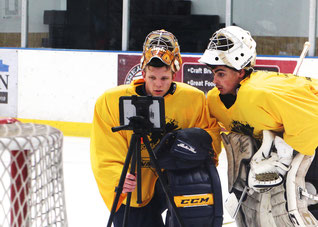 Ice Hockey Goalie Camps by Goalie Action